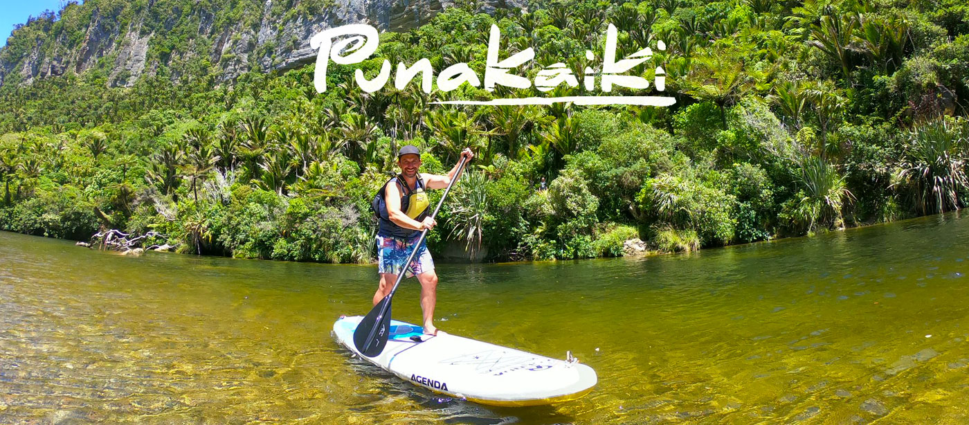Punakaiki on the West Coast on New Zealand